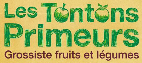 Logo des tontons primeurs (grossiste fruits et légumes)