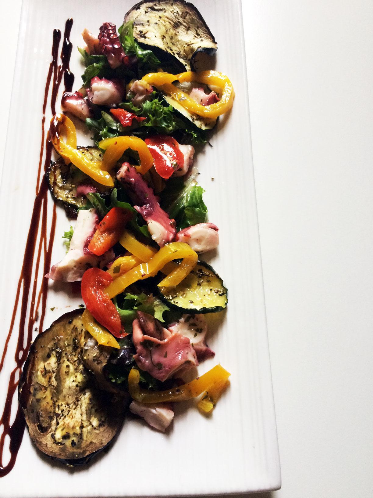 Un plat du restaurant le Carré d'Art à Nîmes
