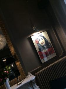 Franck Shepard fairey 3 exposition restaurant le Carré d'art à Nîmes