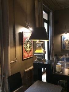 Franck Shepard fairey 6 exposition restaurant le Carré d'art à Nîmes